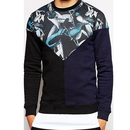 Luter – Sweatshirt mit Vogel-Einsatz - 134,29 € - bei asos.de