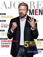 Ajouré Cover Monat Dezember 2013 - Boris Becker