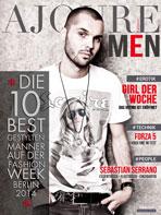 Ajouré Cover Monat Februar 2014 - Sebastian Serrano