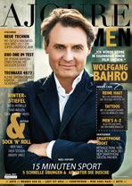 AJOURE Men Cover Monat Januar 2017 mit Wolfgang Bahro