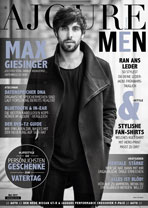 AJOURE Men Cover Monat Mai 2017 mit Max Giesinger