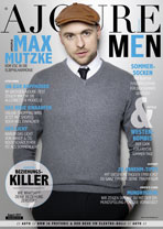 AJOURE Men Cover Monat August 2017 mit Max Mutzke