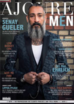 AJOURE Men Cover Monat September 2017 mit Senay Gueler