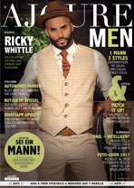 AJOURE Men Cover Monat Juni 2017 mit Ricky Whittle
