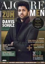 AJOURE Men Cover Monat April 2016 mit Davis Schulz