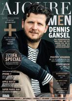 AJOURE Men Cover Monat Oktober 2016 mit Dennis Gansel