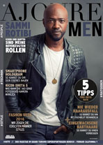 AJOURE Men Cover Monat März 2016 mit Sammi Rotibi