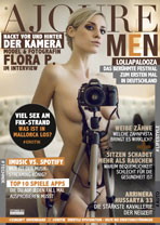AJOURE Men Cover Monat September 2015 mit Flora P.