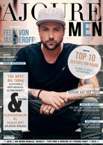 AJOURE Men Cover Monat November 2017 mit Felix von Jascheroff