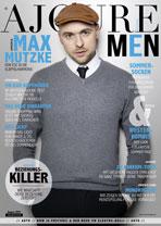 AJOURE Men Cover Monat August 2017 mit Max Mutzke