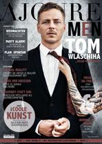 AJOURE Men Cover Monat November 2016 mit Tom Wlaschiha