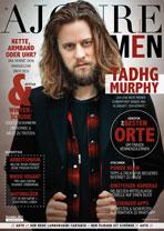AJOURE Men Cover Monat Dezember 2016 mit Tadhg Murphy