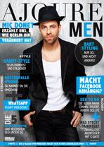 AJOURE Men Cover Monat Februar 2016 mit Mic Donet