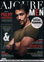 AJOURE Men Cover Monat Oktober 2017 mit Philipp Christopher