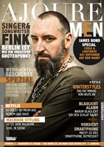 AJOURE Men Cover Monat Dezember 2015 mit Fink