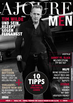 AJOURE Men Cover Monat Januar 2016 mit Tim Wilde