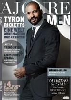 AJOURE Men Cover Monat Mai 2016 mit Tyron Ricketts