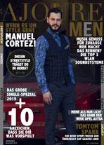 AJOURE Men Cover Monat November 2015 mit Manuel Cortez
