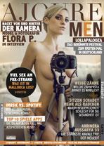 AJOURE Men Cover Monat September 2015 mit Flora P.