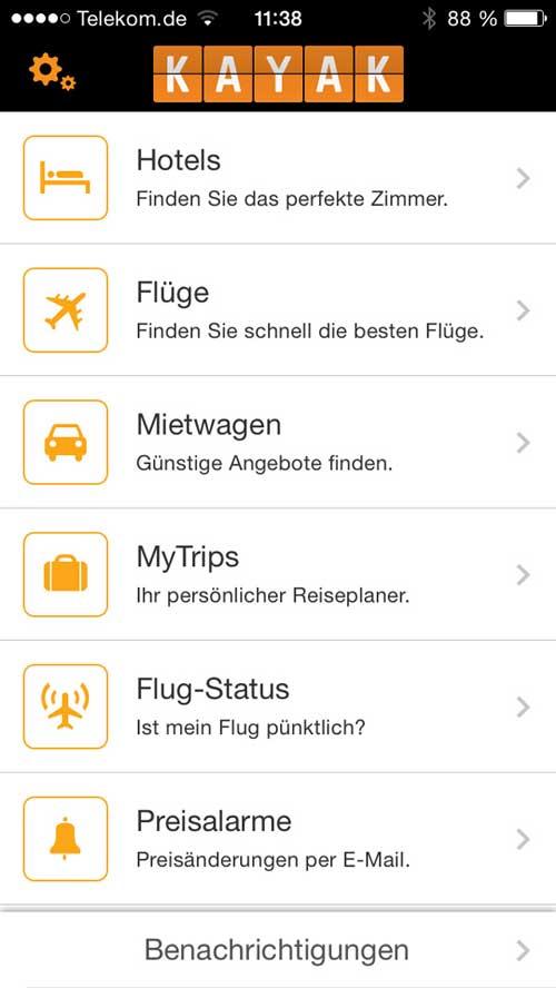 Apps für Reisende