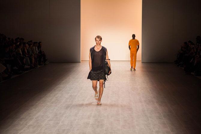 Julian Zigerli eröffnet die Fashion Week