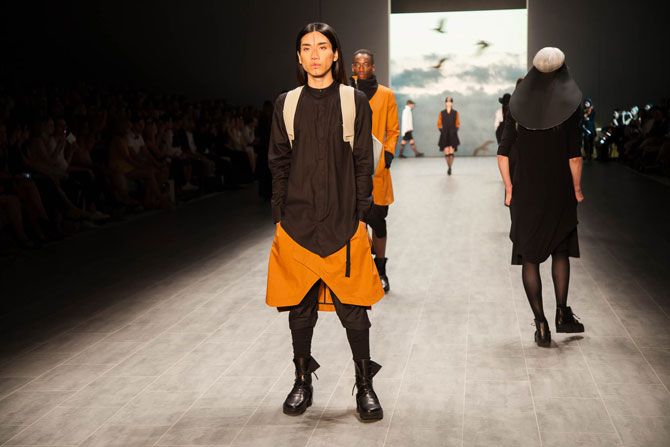 UMASAN auf der Fashion Week Berlin