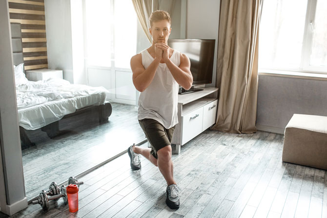 Crossfit Zuhause Lunges