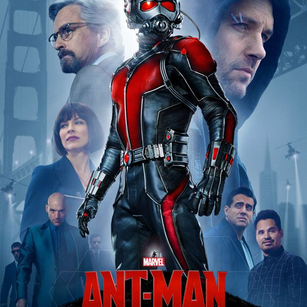 Der neue Marvel-Held Ant-Man schrumpft auf Ameisengröße.