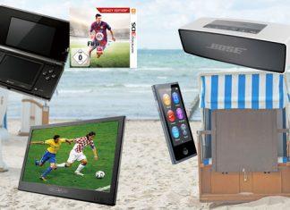 Strandöde? Von wegen! Diese Technik-Geräte lassen keine Langeweile aufkommen.
