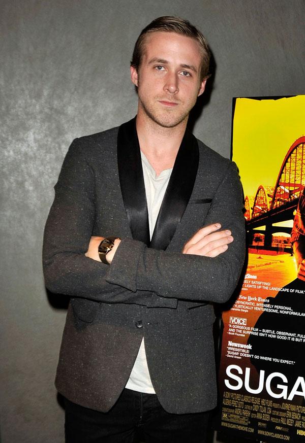 Ryan Gosling mit Uhr