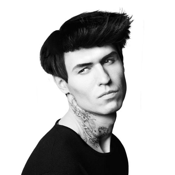Asymmetrischer Haarschnitt Männer