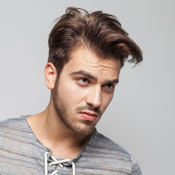 Undone Look Männer Frisuren
