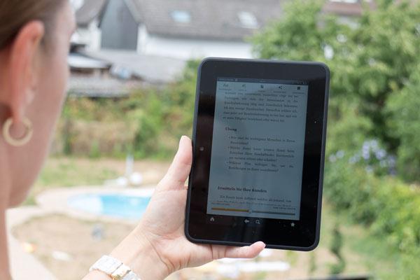 10 clevere Reisetipps kindle eReader Bücher im Urlaub