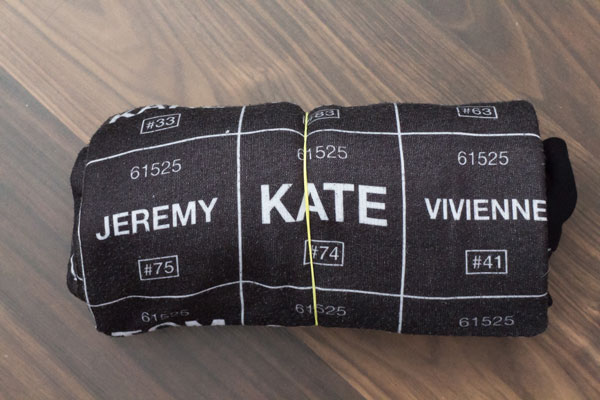 10 clevere Reisetipps Kleidung knitterfrei durch rollen