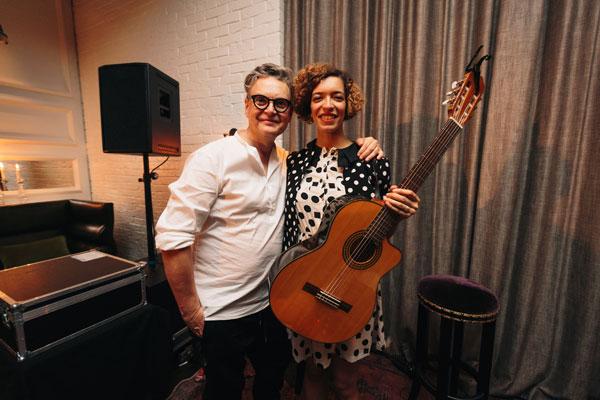 Rolf Scheider & Celina Bostic