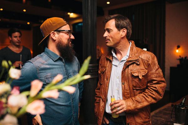 Sven Schlager (Head of Marketing Timezone) & Jan Sosniok