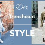 Der Trenchcoat kombiniert im lässigen Street-Style Look.