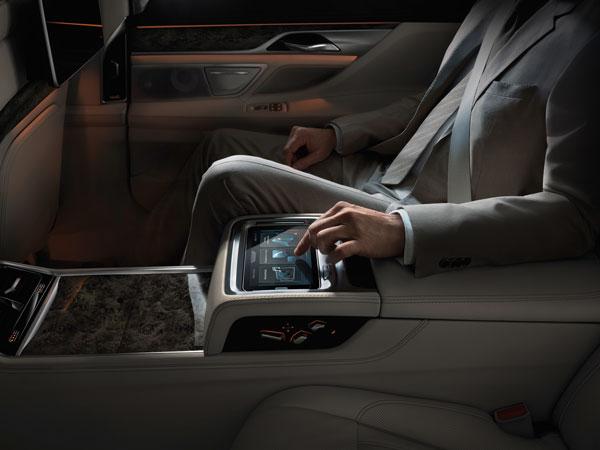 BMW 7er Bedienung