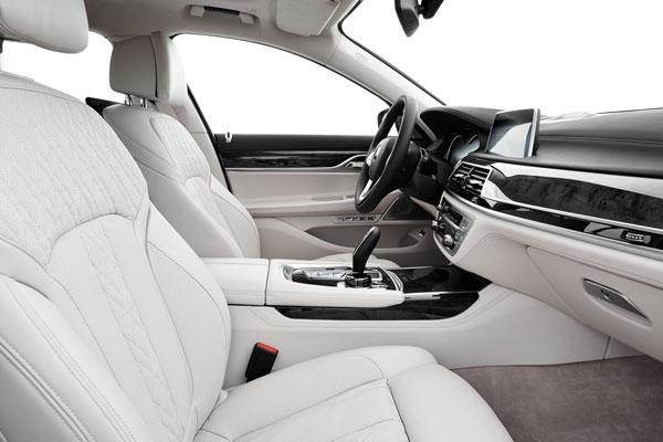 BMW 7er Innenansicht