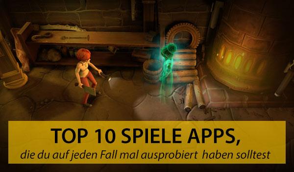Top 10 Spiele Apps