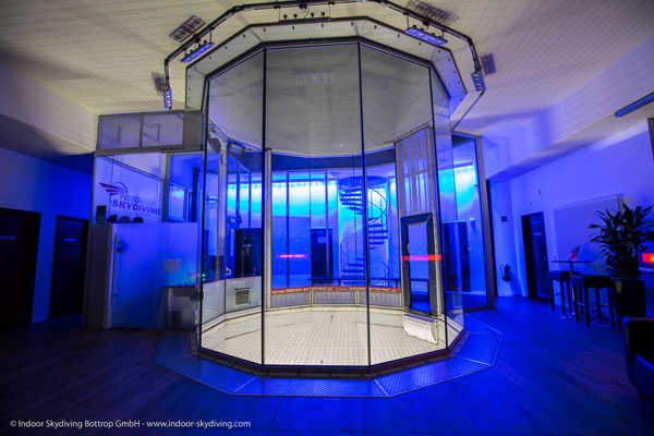 Indoor Skydiving Kanal