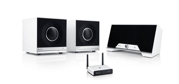 WLAN-Soundsysteme Teufel 2Raumfeld Welcome Home - WLAN-Musiksystem für 2 Räume