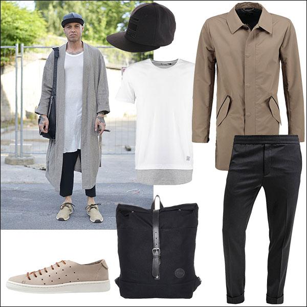 Streetstyle Longshirt Look 2