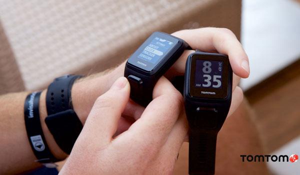 Auf dem TomTom Beat Camp in Ibiza konnten alle Teilnehmer die neue GPS Fitness Uhr testen.