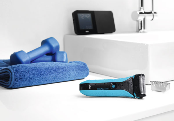 Braun WaterFlex Rasierer