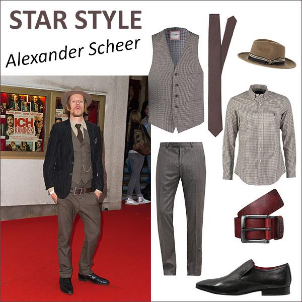 Alexander Scheer roter Teppich