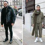Lässig rockig oder All-Over in khaki - das sind die neuen Winter-Streetstyles