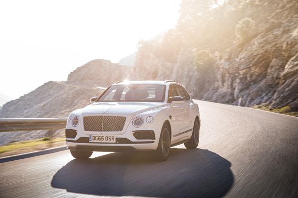 Bentley Bentayga Frontansicht