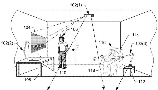 Augmented Reality Patent Amazon