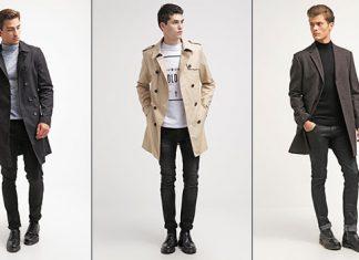Männer Trend Winter Mäntel
